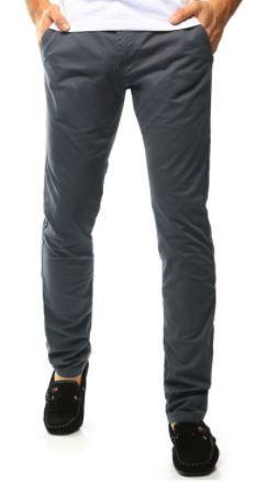 szare spodnie typu chinos